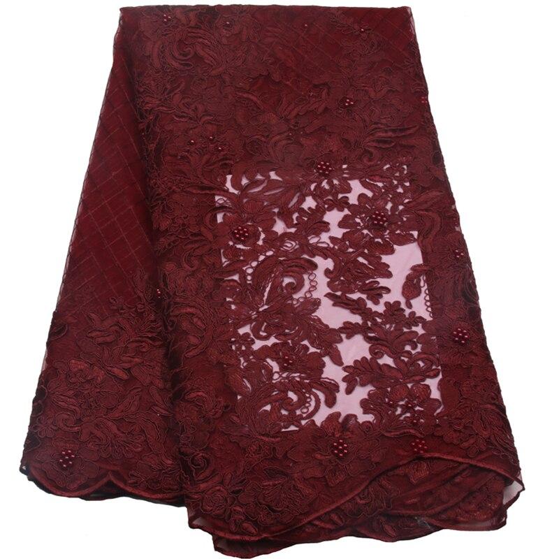 Vinho Mais Recente Francês Laços Nigerianos Tecidos de Alta - Artes, Ofícios e Costura
