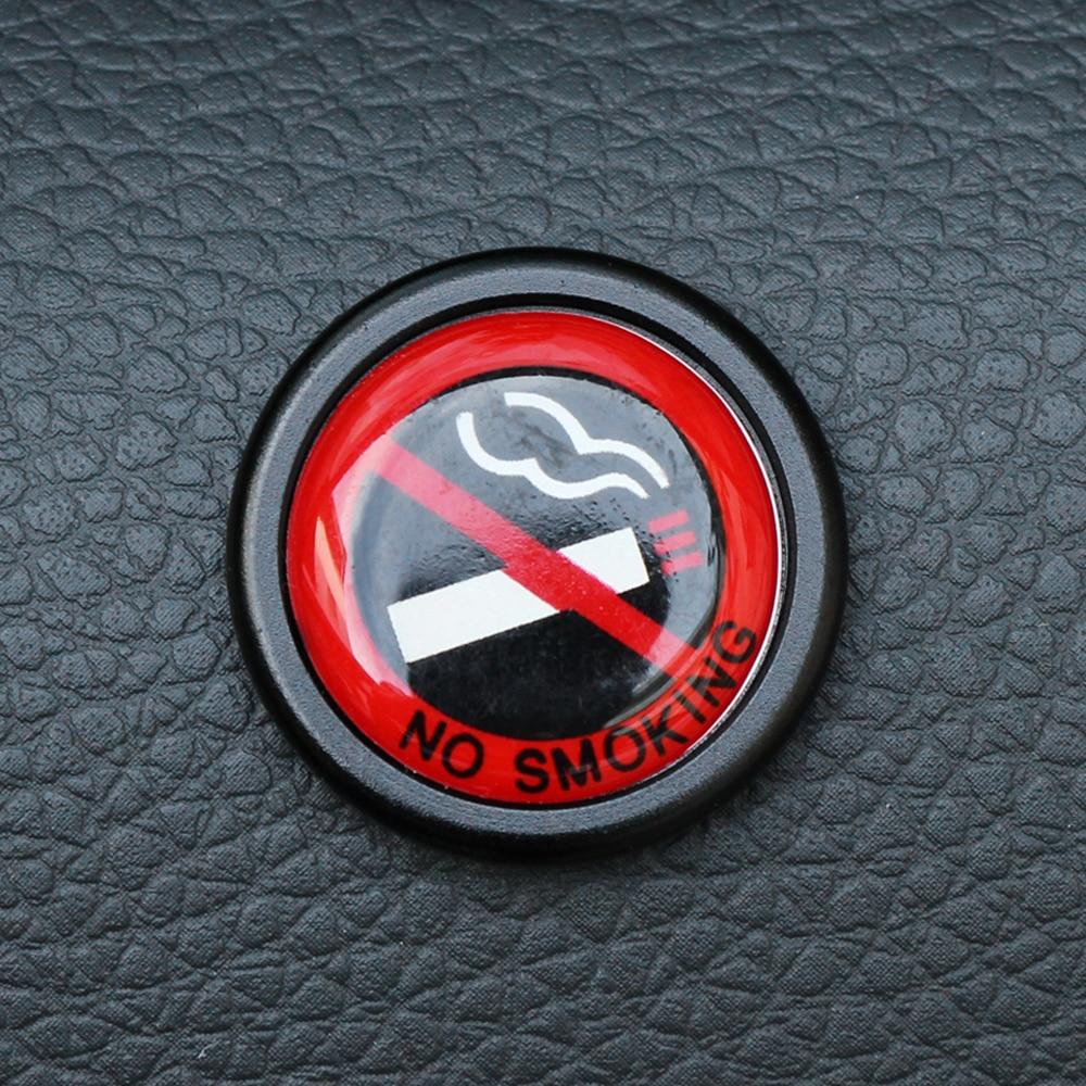 Car Sticker No Smoking Warning Logo For Bmw Mini Cooper S R50 R53