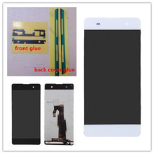JIEYER 5  Screen For Sony Xperia XA  LCD Display and Touch Screen Digitizer Assembly 4 6 white or black for sony xperia z3 mini compact d5803 d5833 lcd display touch digitizer screen assembly sticker