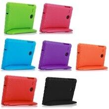 מקרה עבור Samsung Galaxy Tab E 8.0/T377 יד כף הלם הוכחת EVA מלא גוף כיסוי ילדים ילדים סיליקון para מעטפת coque