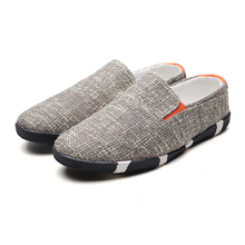 2018 여름 남성 신발 통기성 남성용 대마 신발 염가 신발류 캐주얼 운동화 슬립 게으른 신발 패션 맨 슈즈