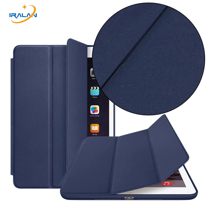 2018 hot Newest Official Magnetic Case For Apple iPad mini 1 2 3 Ultra thin Stand PU Leather Smart Cover+screen Film+stylus