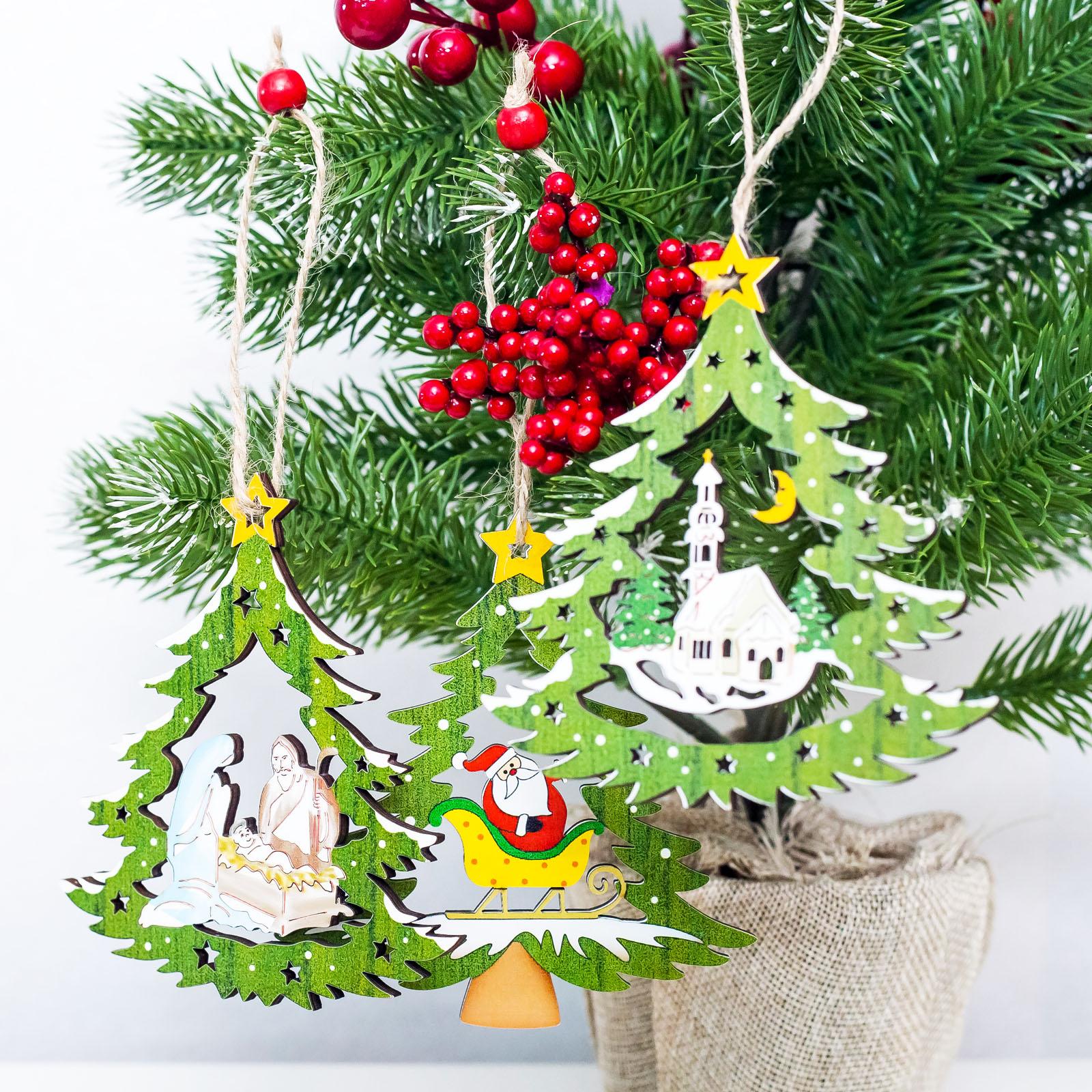 Beautiful Christmas Tree Pictures: Aliexpress.com : Buy 10x11cm Beautiful Hollow Christmas