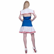 Women Sexy Sailor Girl Crew Seaman Mariner Costume Cosplay Party Fancy Dress Clothing for Female Adult Lady Halloween Costumes