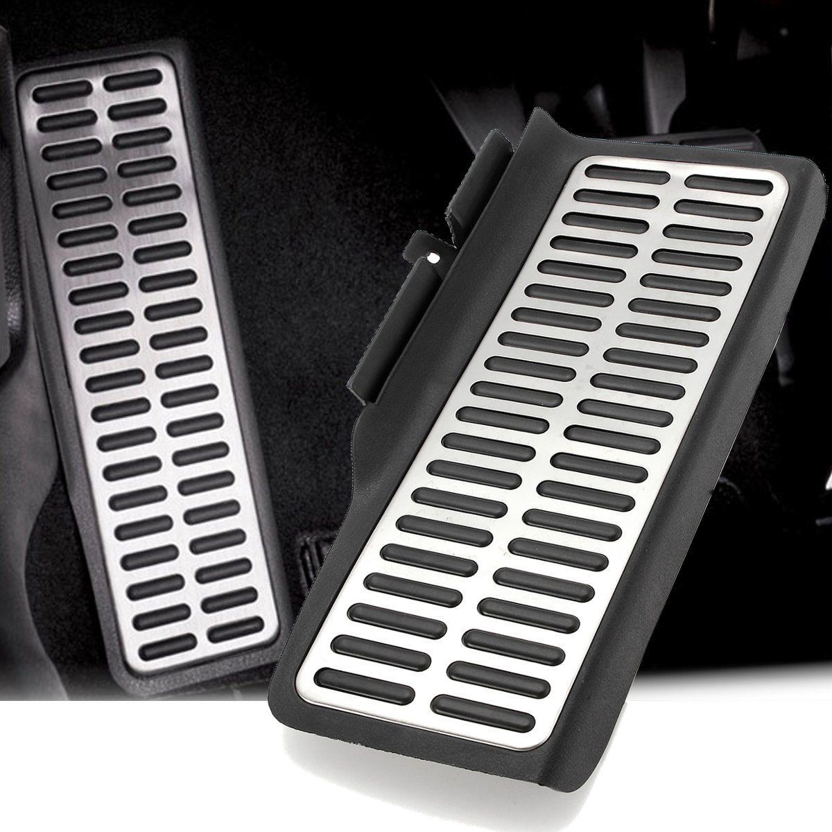 Foot Rest Dead Pedal Pad Aluminum For VW Volkswagen Jetta MK6 2011-2016 LHD