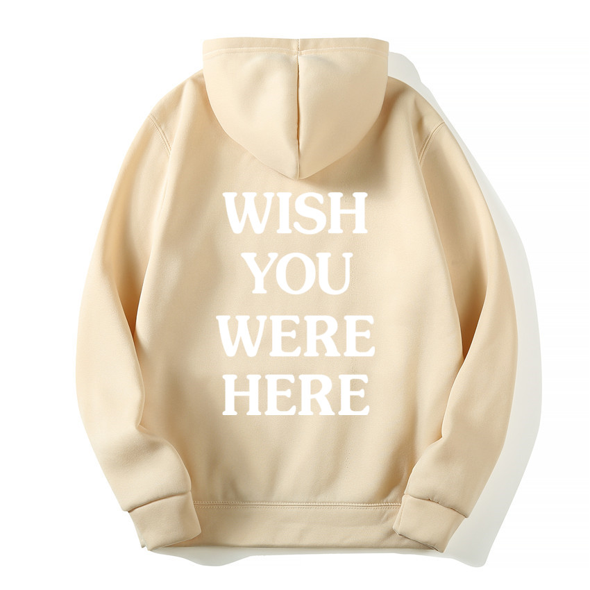 TRAVIS SCOTT ASTROWORLD WISH YOU WERE HERE HOODIES fashion letter ASTROWORLD HOODIE streetwear Man woman Pullover Sweatshirt 5