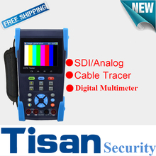 Three.5 inch LCD display screen HD SDI take a look at monitor Analog CCTV Tester with Cable Tracer and Digital Multi-meter