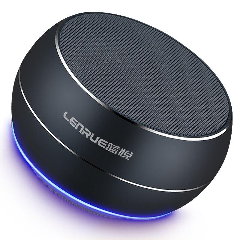 LENRUE Tragbare Bluetooth Lautsprecher Spalte Subwoofer Lautsprecher Lautsprecher