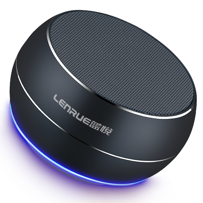 LENRUE Portable Bluetooth Speaker Column Subwoofer Loudspeaker Speakers