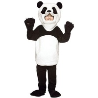 Soft And Comfortable Plush Child Deluxe Giant Panda Bear Animal Costume For Boy Age 7 10y
