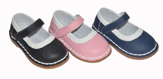 baby girls shoes 2017 spring autumn kids pink navy black mary jane classic for little girls toddler shoes handsewing chaussure