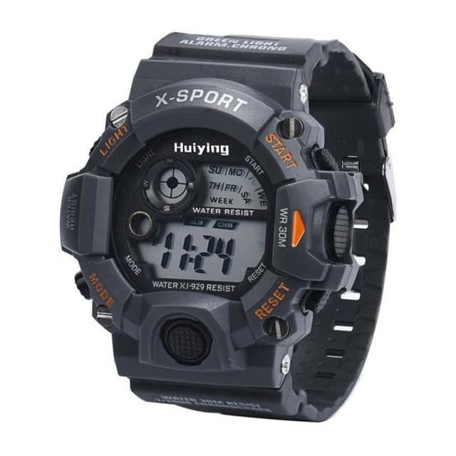2018 New Fashion Children's Watch Men's Quartz Digital Sports Watches LED Milita