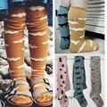 2015 New Bobo Choses Outono Inverno Crianças Calças Justas Padrão de Nuvens de Algodão Para Meninos Das Meninas Do Bebê Meia-calça