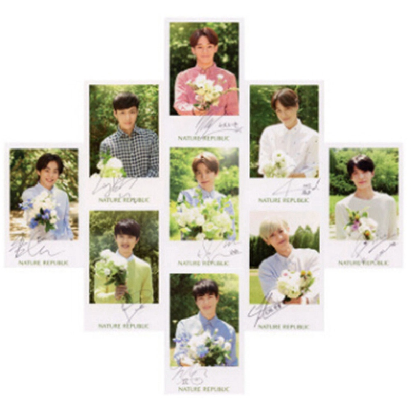 Office & School Supplies 12pcs/set K-pop Exo Exact Lotto Plant 3 Exact Album Self Made Paper Cards K-pop Signature Lomo Photo Card Photocard Clients First Calendars, Planners & Cards