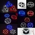 1 * Автомобилей Стайлинг 5D СВЕТОДИОДНЫХ Автомобилей Наклейка Хвост Логотип Свет Знак Лампы Стикера Эмблемы Для Volkswagen VW Polo/Mazda 3 6/Suzuki/Scion/Mitsubish