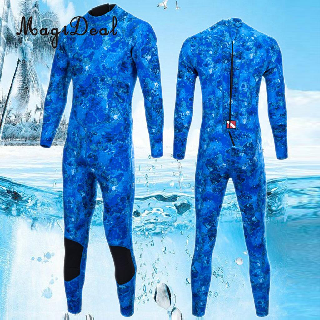 Professional 3mm Neoprene Men's Wetsuit Scuba Diving Surfing Swimming For Underwater Kayak Bodyboard Spearfishing Swimwear S-XXL