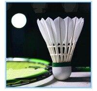 12pcs/lot Badminton Shuttlecocks Goose Feather Shuttlecock Badminton Balls Outdoor Sports Badminton Accessories
