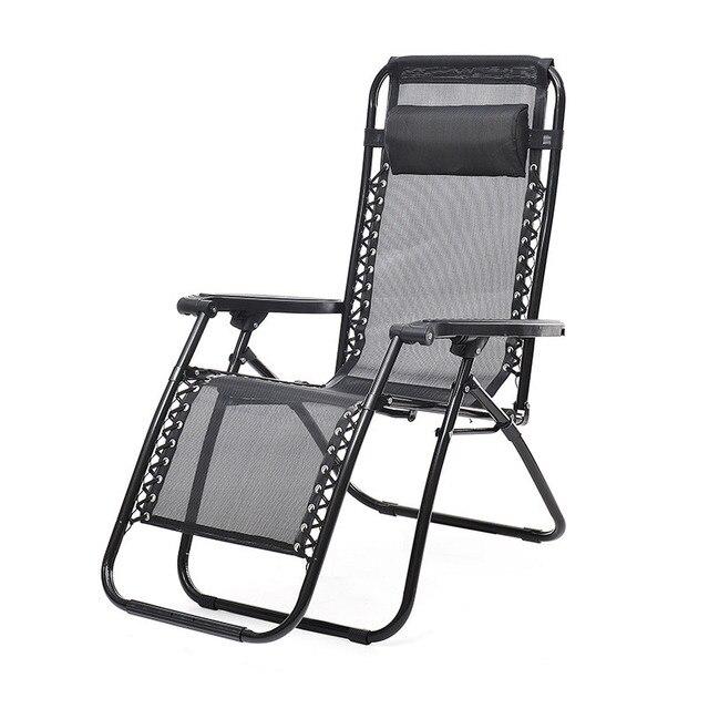 Outdoor Zero Gravity Lounge Chair Beach Patio Pool Yard Folding Recliner #4