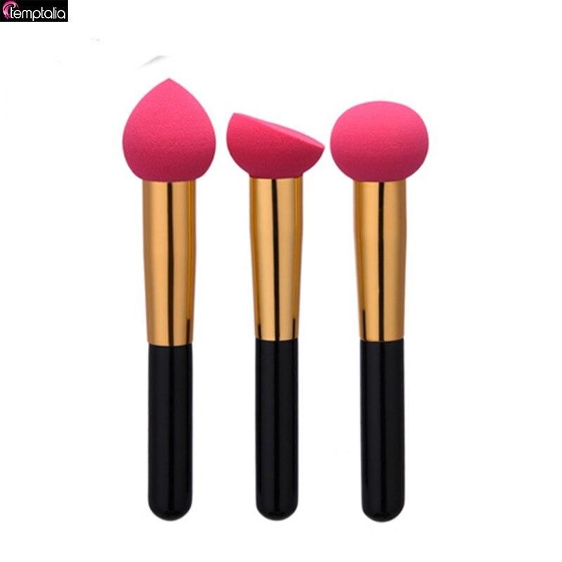 Temptalia Complexion 3pcs Makeup Brush Foundation Soft Miracle Make Up Blender Puff Concealer  3pcs 3 175x15mm up