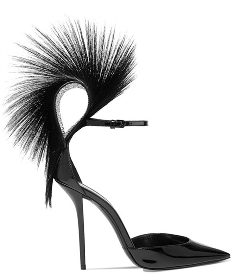 Fashion-design-women-catwalk-shoes-sexy-pointed-toe-feather-stiletto-pumps-ankle-strap-thin-high-heels (2)