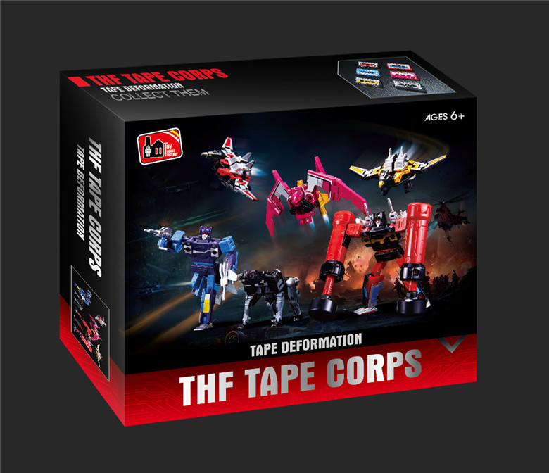 G1 THF Transformation Soundwave Six Tape Troop - Mindwipe Rumble Frenzy Ravage Laserbeak Buzzsaw Limit KO Figure Robot Toys картридж epson xl magenta xp33 203 303 c13t17134a10 page 9