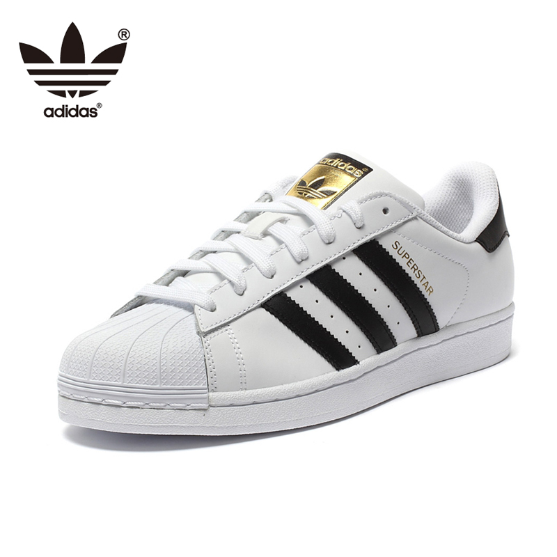 Original Adidas Superstar Classics Skateboarding Shoes Unisex Men