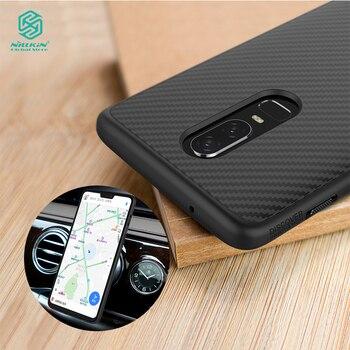 Nillkin Sợi Tổng Hợp bìa cho oneplus 6 trường hợp Sang Trọng điện thoại shell Trở Lại Bìa cho oneplus 6 T