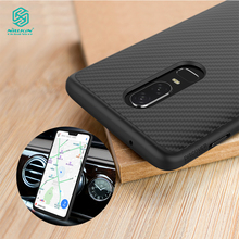 Чехол Nillkin Synthetic Fiber для oneplus 6 чехол Роскошный чехол для телефона задняя крышка для oneplus 6 T