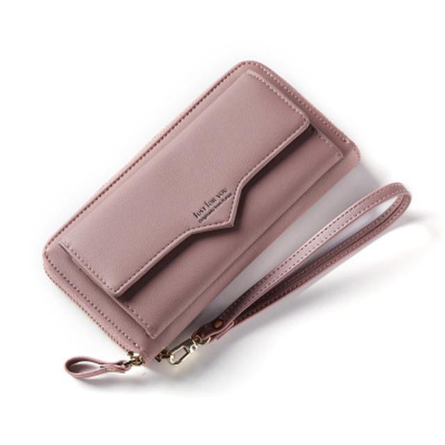 f5f9d99d84f Anreisha Fashion Long Woman Purse New Designer Female Wallet Clutch PU  Leather Ladies Purses Card Holder