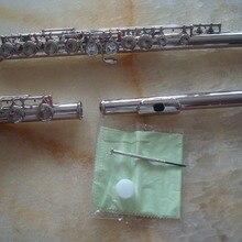 Новое высокое качество Флейта никель Серебряный Ключ C посеребренные YMH 211 221 271 модель с hardcase