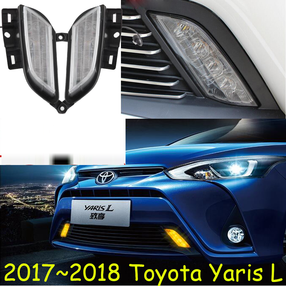LED,2017~2018 yearis L day Light, yearis fog light, yearis headlight;vios,corolla,camry,Hiace,tundra,sienna,yaris L