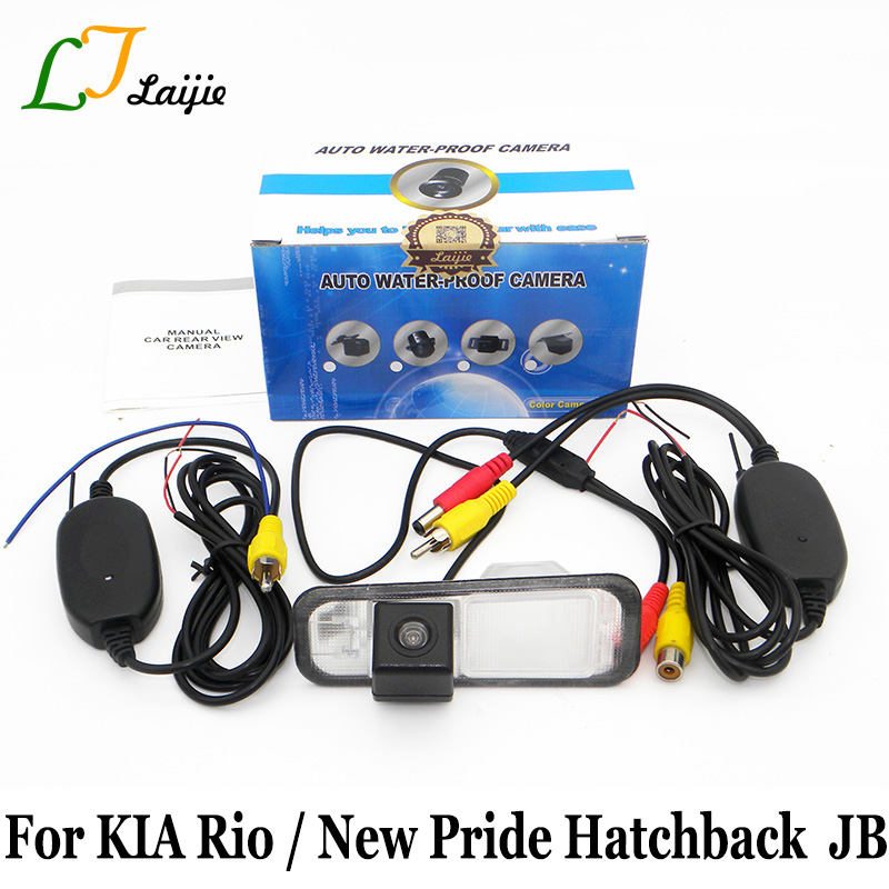 Laijie Wireless Car Rear View Camera For KIA New Pride Rio Hatchback Rio5 JB 2005~2011 / ...