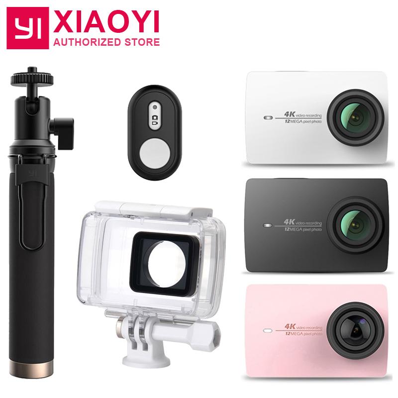 """Prix pour D'origine Xiaomi YI 4 K Camera Action 2 Ambarella A9SE 2.19 """"155 Degrés 12MP Caméra De Sport EIS PMA [Édition internationale]"""