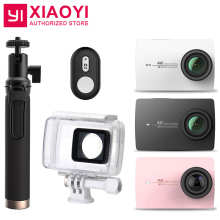 Original Xiaomi Xiaoyi YI 4K Action Camera 2 Ambarella A9SE 2.19″ 155 Degree 12MP Sports Camera EIS LDC [International Edition]