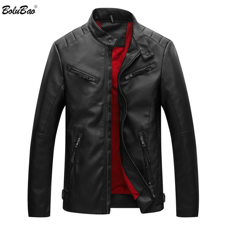 Men Jacket Motorcycle Military Bomber Autumn Casual Slim Fit Jacket Quality Black Business Jacket Green Casual
