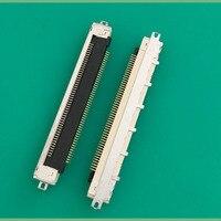 LCD LVDS موصل مقبس 0.5 الملعب 51 دبوس الشركة العامة للفوسفات مهائي كابلات الذهب مطلي-في موصلات من مصابيح وإضاءات على