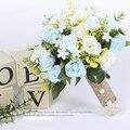2017 Nova Noiva Do Casamento Da Dama de honra Buquê de Casamento Romântico Buquê de Flores Acessórios Do Casamento Noivas