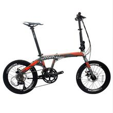 Foldable Aluminum Alloy Bike 20 Inch 18 Speed Double Disc Brakes Adult Urban High Quality B