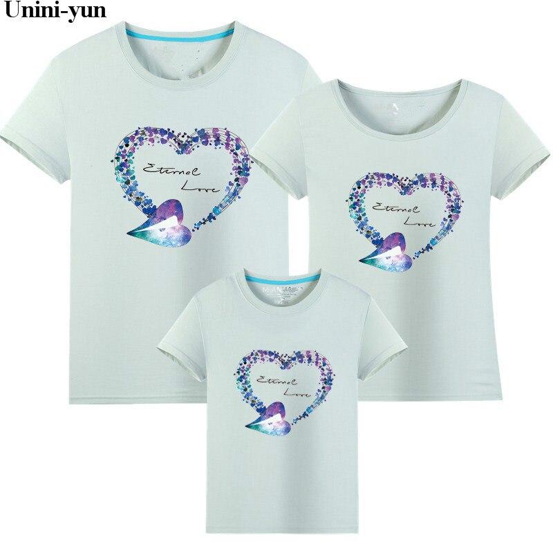 2018 Familie Passenden Mädchen Kleidung T-shirt Mom Frauen Tochter Tops Frauen Kind Kinder Mädchen T Tops Vater Und Sohn Sommer Tuch