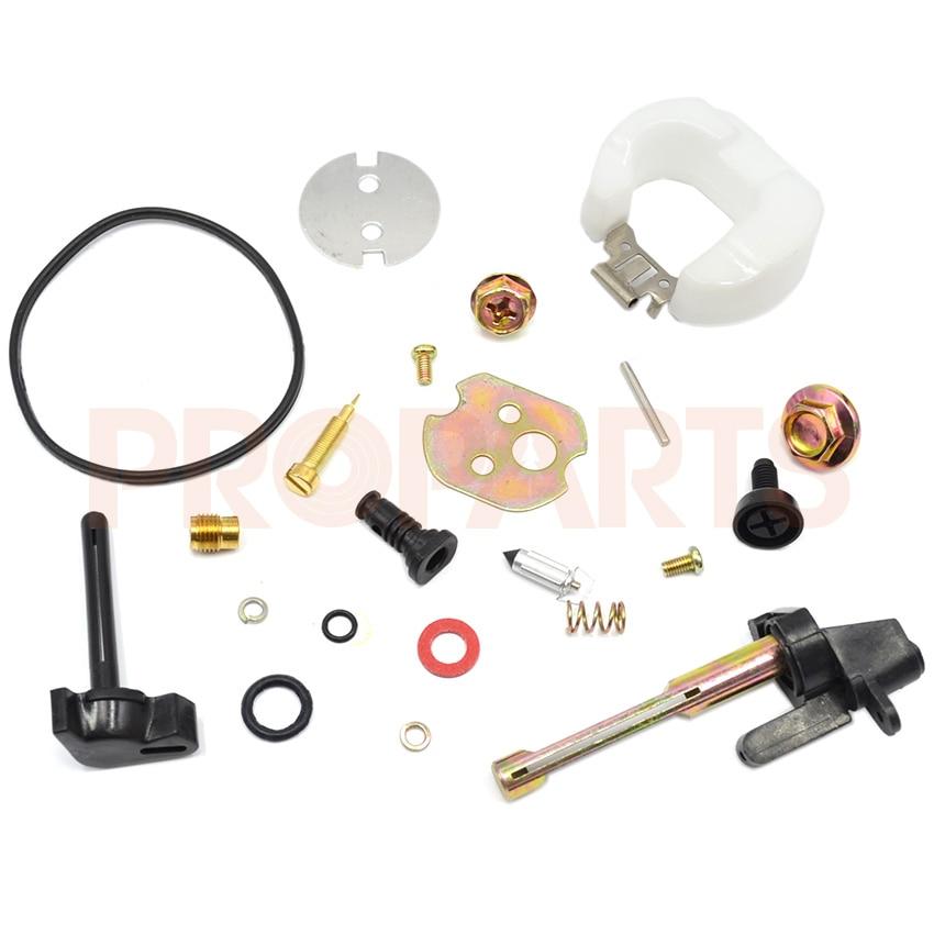Carburetor Carb Rebuild Repair Kit Parts For Honda Gx390 Engine Generator Water Pump 13HP lipai zinc manual carb carburetor accelerator pump for honda cg150 silver grey