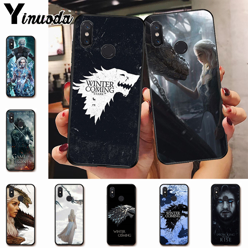 Phone Bags & Cases Half-wrapped Case Babaite Game Of Thrones Novelty Fundas Phone Case Cover For Xiaomi Mi 8se 6 Mi8lite Note2 Note3 Mix2 Max2 Max3 Mobile Cases