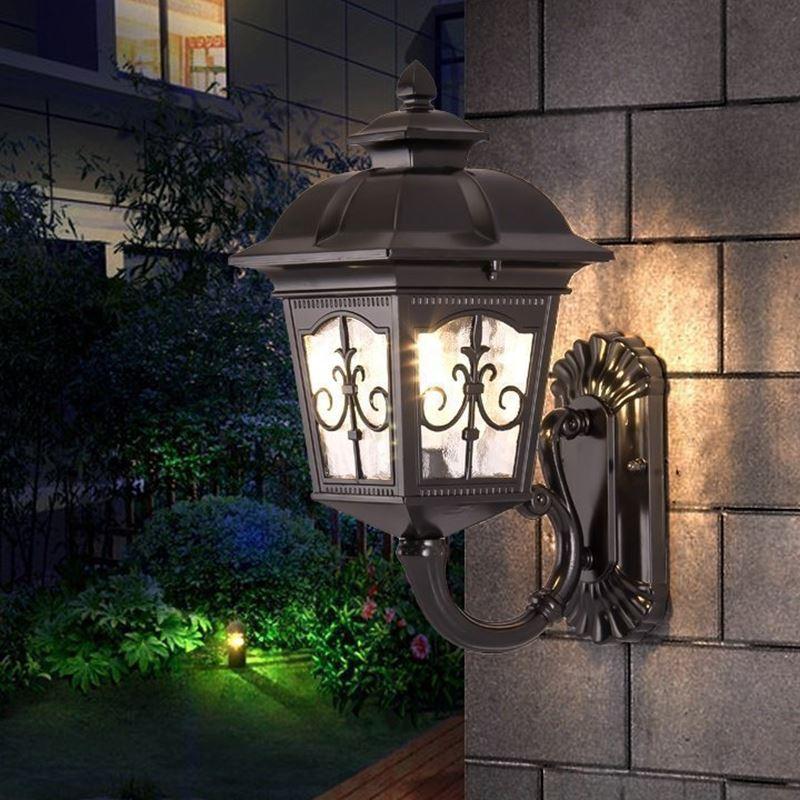 Europaischen Und Amerikanischen Outdoor Wand Lampe Wasserdichte