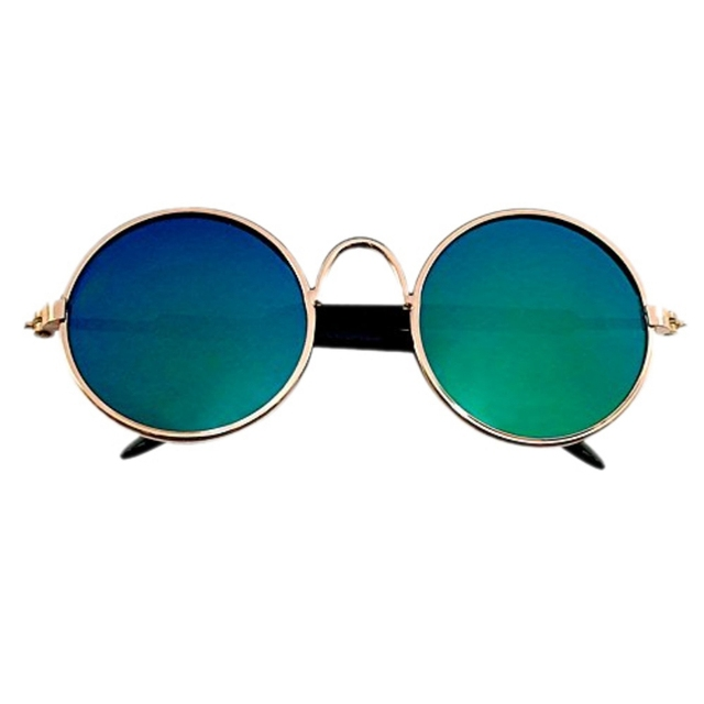 Cute Glasses Small Pet Dogs Cat Glasses Sunglasses Eye-wear Protection Pet Glasses Pet Photos Props Random Colors