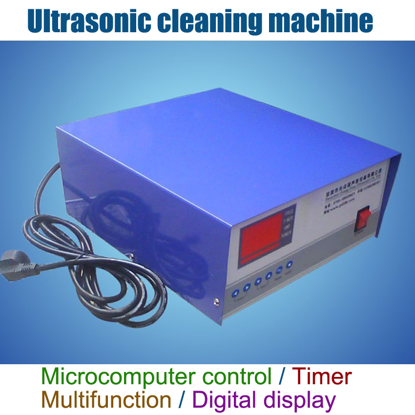 1PC Multifunctional Ultrasonic Generator 1200W/28khz With Power Adjustable,Timer, Protection, Digital Display