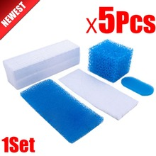 5pcs for Thomas Twin / Genius Kit Hepa Filter 787203 Vacuum Cleaner Parts Aquafilter Filters