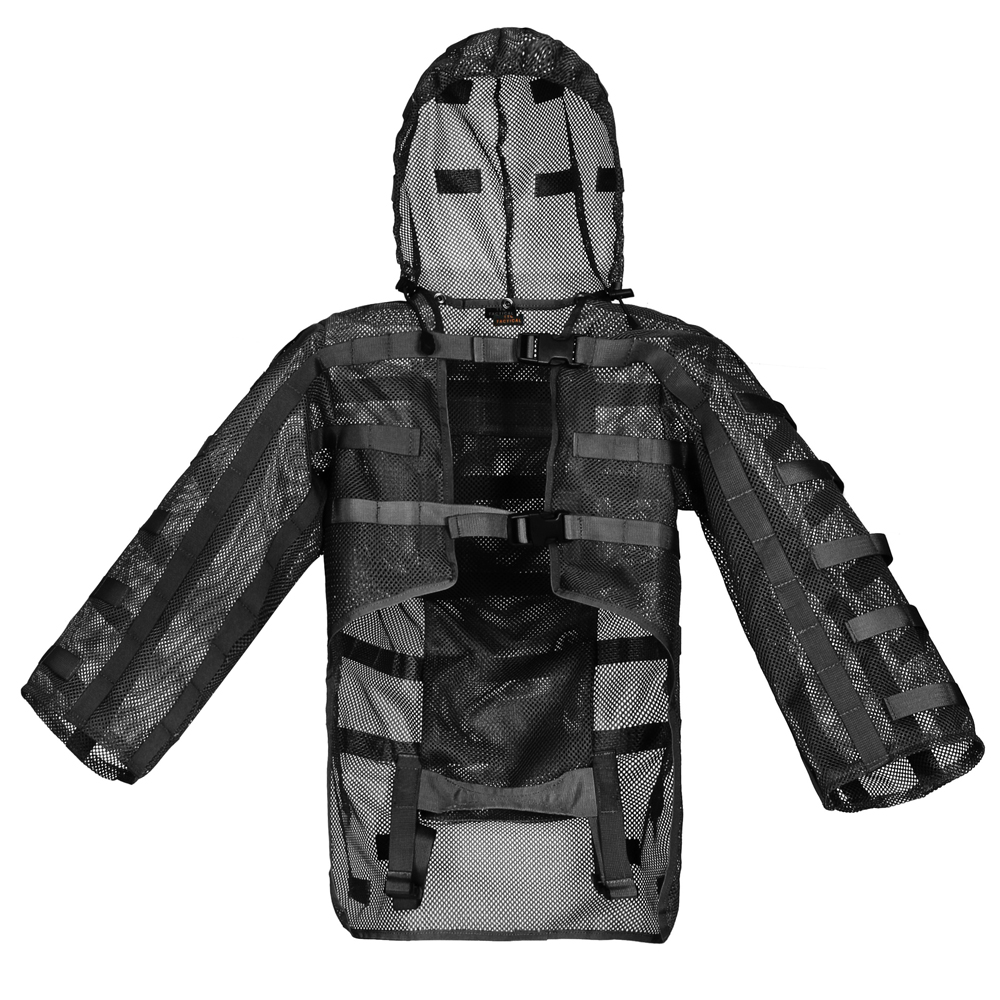ROCOTACTICAL Ultra light Sniper Tog Ghillie Suit Foundation Hydration Compatible Breathable Tactical Ghillie Base for Airsoft