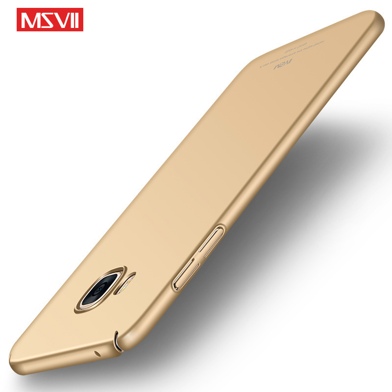 MSVII for Samsung Galaxy C5 Ultra-thin Luxury Slim Case Phone Protective Case Cover PC Hard Phone Back Cover for Galaxy C5 C 5