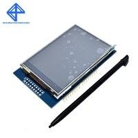 3,3 дюймов В 2,8 В 300mA TFT ЖК дисплей щит сенсорный дисплей модуль для Arduino UNO с резистивный сенсорный панель DIY Kit