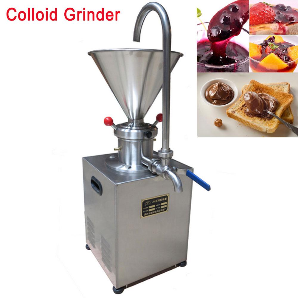 4.1L Hopper Electric Stainless steel Peanut Nut Butter Grinder Sauce Pressing Machine Tomato Butter Maker Colloid Mill 1500Watt Мельница