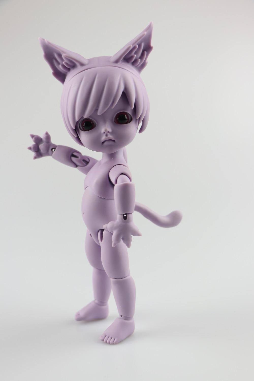Nuevo regalo de cumpleaños de la versión animal de la muñeca de la manera de bjd Sofia ojos libres-in Muñecas from Juguetes y pasatiempos    1